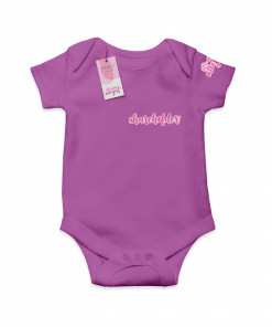 Shareholder Purple  Cotton Bodysuit