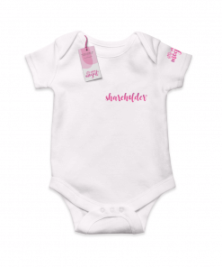 Shareholder White Cotton Bodysuit